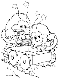 38 rainbow brite coloring pages images