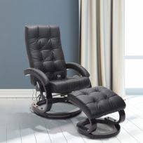 canape massant electrique vidaxl fauteuil de électrique inclinable en cuir