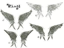 wing designs by westbaylen on deviantart