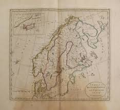 Cary Map Antique Maps Of Scandinavia