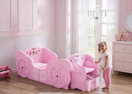 princess carriage convertible toddler to twin bed delta