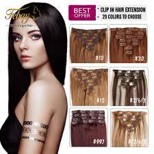 Yaki Clip In Human Hair Extensions by Full Head Set U2013 Jades Hair