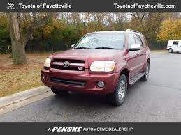 toyota sequoia 2007 2007 used toyota sequoia 4wd 4dr limited at fayetteville autopark