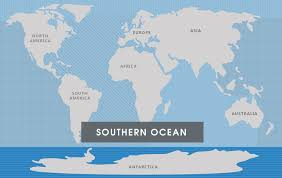 map with oceans southern the 7 continents of the