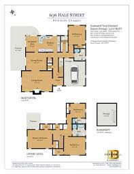 Floor Plan Company by Floor Plan U2014 656 Hale St Palo Alto