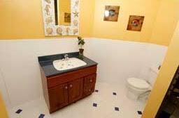 Bathroom Wainscotting Bathroom Remodel Wainscoting Rebath Bathroom Remodel