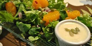 cuisiner la salade verte salade verte et vinaigrette crémeuse à la clémentine je cuisine