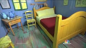 vincent van gogh bedroom you can now sleep in vincent van gogh s painting the bedroom nbc