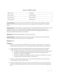 access authorization template u2013 hipaa templates