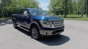 nissan titan quick lift 2017 nissan titan platinum reserve crew cab 4x4 walk around video