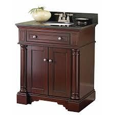 31 x 22 vanity top for vessel sink shop allen roth albain auburn undermount single sink bathroom