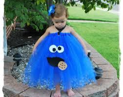 Blue Monster Halloween Costume Cookie Monster Costume Etsy