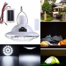 Remote Control Landscape Lighting - 22 led solar powered yard outdoor hiking tent light remote control