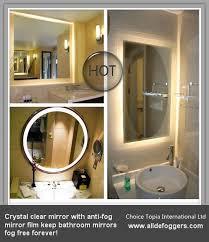 bathroom mirrors nrgmirrordefoggers