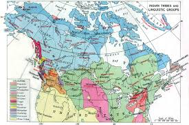 Map Of North America And Canada by Map Linguistic Jpg