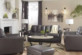 Dark Gray Living Room by Warm Gray Living Room Colors