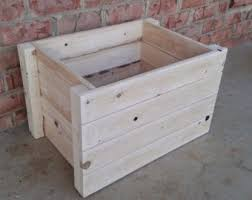 rustic toy box etsy
