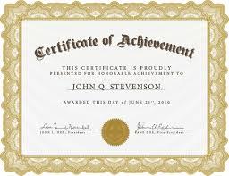 awards certificates templates for word masir