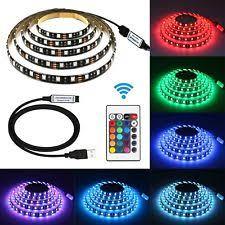 fry s led light strips bias lighting searik rgb led light strip kit tv backlight 5v usb