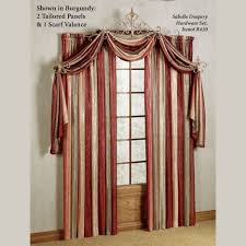 Fishtail Swag Curtains 63 Inch Swag Curtains Living Room Valances For Windows Fishtail