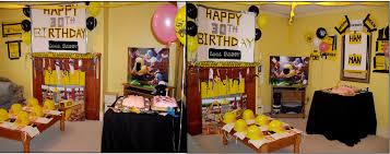 30th birthday decorations 30th birthday decoration ideas