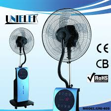 fan that uses ice to cool removable cool mist outdoor fan pedestal electric water air cooler
