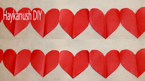 Valentines Day Decoration How To Make An Easy Valentines Day Decoration Valentines Day Craft