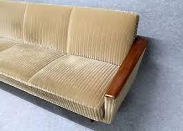 vintage day sofa bed settee teak retro 50s 60s 70s danish mid