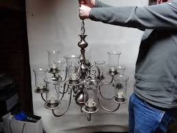 Flemish Chandelier Chelsom Flemish Chandelier And Wall Lights Brushed Pewter Finish