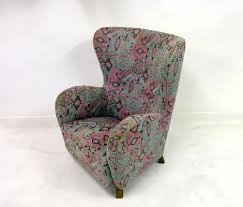 Wing Back Armchairs Danish Wingback Armchair 1940s For Sale At Pamono