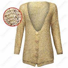 Gold Sequin Cardigan Womens Sequin Cardigan Ebay