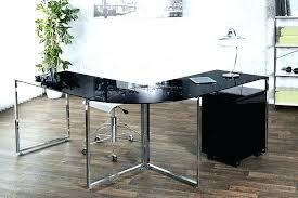 bureau d angle design bureau d angle noir laquac bureau bureau angle noir laque velove me