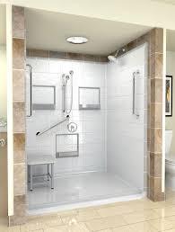 Best Wheelchair Accessible RollIn Shower Images On Pinterest - Handicap accessible bathroom design