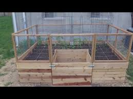 around the home 25 building a u shaped raised bed part 3 youtube