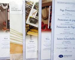 scrapbook page protectors page protectors etsy