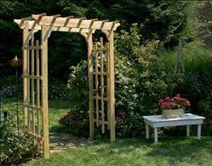 wedding arch plans free amish martha s arbor amish outdoor crafts