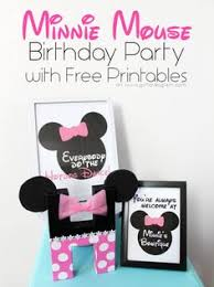 minnie mouse party invitations template u2013 pink minnie mouse fest