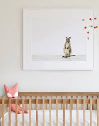 Deer Mobile For Crib Sophisticated Art For Baby U0027s Nursery Shop Our Charming Collection