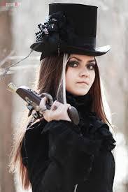 spirit halloween steampunk steampunk veronart goth gothic fashion style black women lady