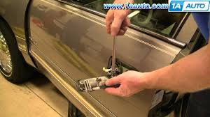 2007 cadillac escalade door handle how to install replace outside front door handle cadillac