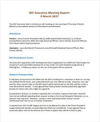 committee report template meeting report template templates franklinfire co