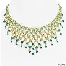 statement necklace wholesale images New design trending beaded necklace jewellery wholesale jpg
