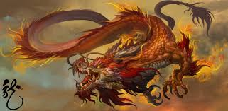 artstation chinese dragon dongjun lu