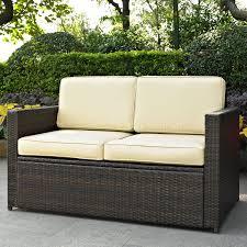 crosley kiawah outdoor wicker arm chair walmart com