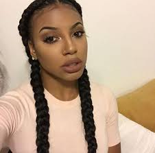 black hair styles for for side frence braids image result for double braid hairstyles with weave twist