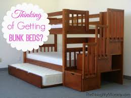 Best Bunk Beds For Little Kids The Naughty Mommy - Half bunk bed