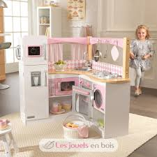 cuisine en bois pour fille kidkraft cuisine en bois grand gourmet cuisine en bois