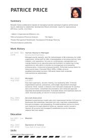 Human Resource Resume Sample by Human Resource Manager Resume Samples Visualcv Resume Samples