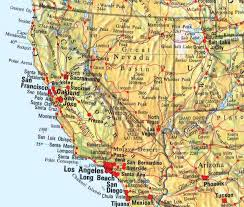 map of usa west coast basemaps atlases of the us beyond nau dr lew pacific coast