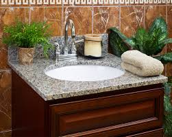 Giagni Andante Faucet by Burlywood Granite Vanity Top U2022 4 Or 8 In Faucet Spread U2022 3 4 In
